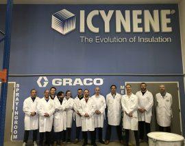 Icynene verwerkers naar Praag