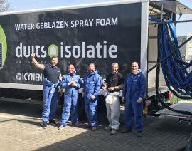 Spray training in Nederland