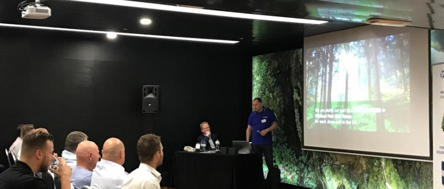 Isolatie Amsterdome valt in de prijzen tijdens Icynene Dealers Meeting 2019