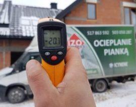 Isolatie van een zolder bij -20°C