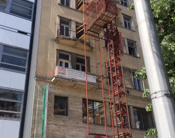 PROJEKTI LERAM BUILDING BRNO – ylimmän maanpäällisen kerroksen tasakaton lämpöeristäminen